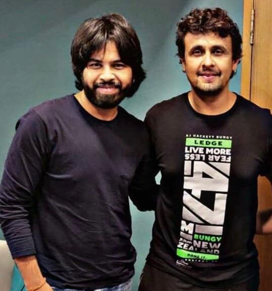 Puneet Dixit and Sonu Nigam