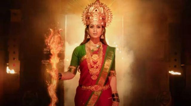 Disney+ Hotstar VIP Releases The Smashing Trailer Of Nayanthara Starrer 'Mookuthi Amman'