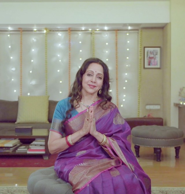 Hema Malini Releases A Special Navratri Track On Her 73rd Birthday With Times Music
