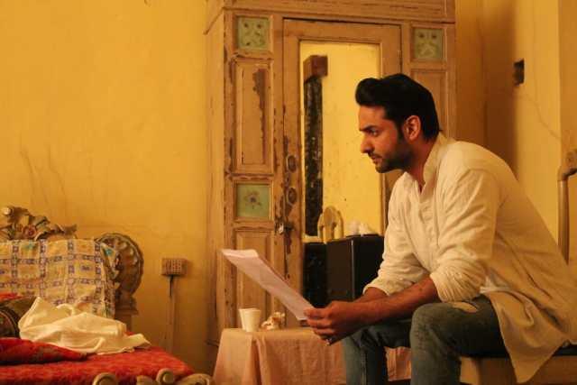 Rohit Bhardwaj during the shoot of Myopia1