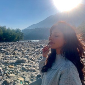 Harshita Gaur Shoot In Manali For A Music Video