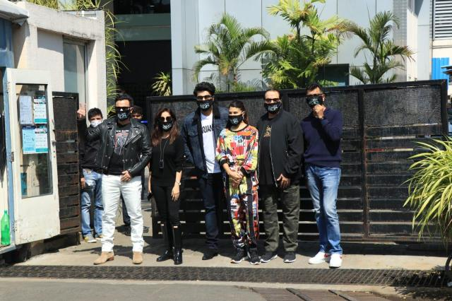 'Bhoot Police' Team : Saif Ali Khan, Arjun Kapoor, Jacqueline Fernandez And Yami Gautam Geared Up For The Shoot
