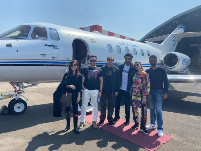 'Bhoot Police' Team : Saif Ali Khan, Arjun Kapoor, Jacqueline Fernandez And Yami Gautam Geared Up For The Shoot