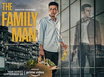 Manoj Bajpayee in The Family Man