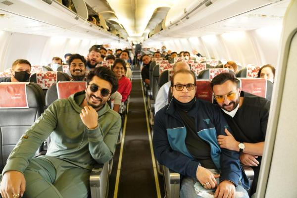 'Bhoot Police' team is all set to roll the last schedule in Jaisalmer