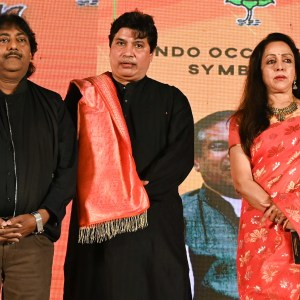 Hema Malini along with Ustad Rashid Khan, unveils a music album