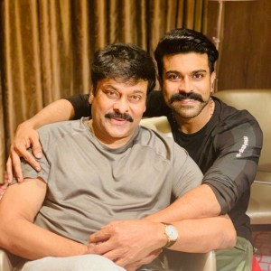 Megastar Chiranjeevi and Mega Power Star Ram Charan to share screen space in Acharya for the first time ever!