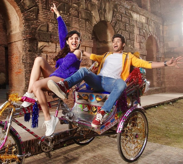 Riding into 2021, here's a new still of rising star Abhimanyu with millennial heartthrob Shirley Setia from 'Nikamma'!