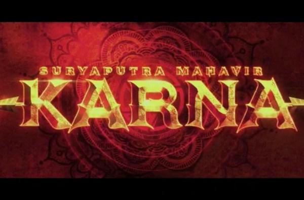 Pooja Entertainment unveils the enthralling title logo of their magnum opus 'Suryaputra Mahavir Karna'