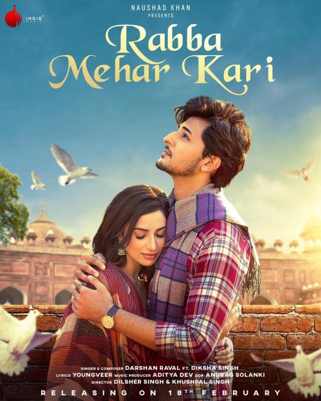 Darshan Raval releases his latest track Rabba Mehar Kari