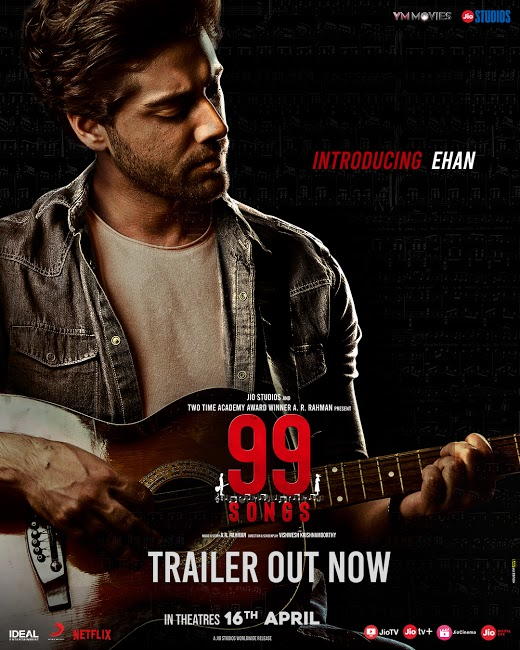 Jio Studios & A.R. Rahman's 99 Songs to Release on THIS date