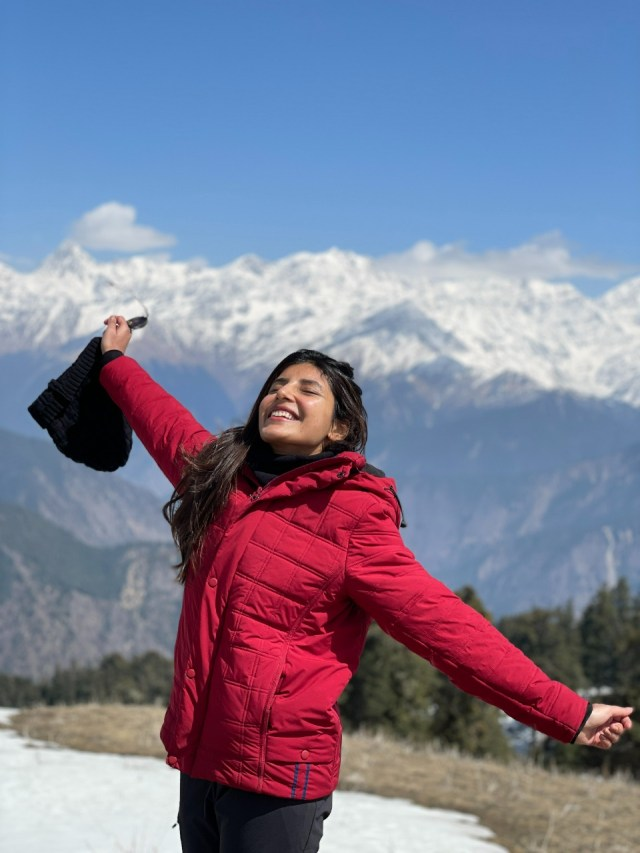 Harshita Gaur's tryst with trekking in the mountains of Uttarakhand