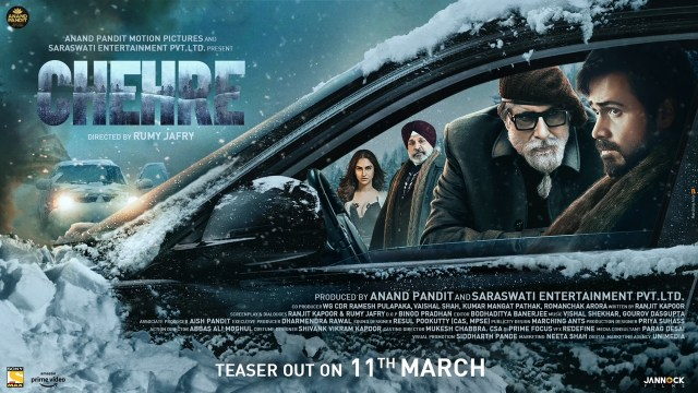 Amitabh Bachchan & Emraan Hashmi's CHEHRE teaser to be unveiled on 11th March!