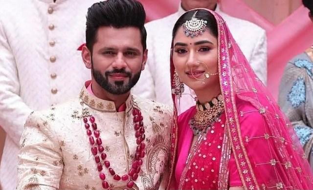 Rahul Vaidya & Disha Parmar share first look of their upcoming song