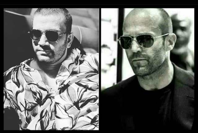 Sharad Kelkar teases Jason Statham for similarity in their look