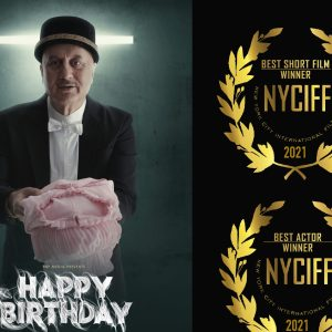 Anupam Kher bags Best Actor Award at New York City International Film Festival for Happy Birthday