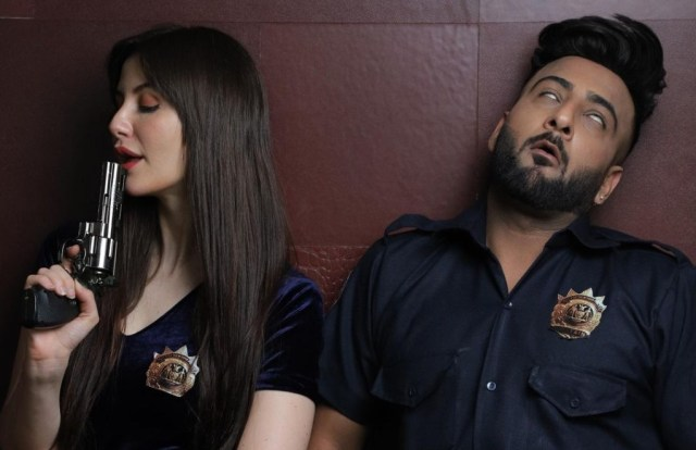 "Shehbaz Badesha love arrest by Giorgia Andriani in ""Little Star"""
