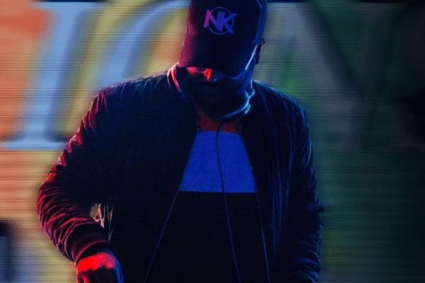 DJ Naveen Kumar at the DJ Booth