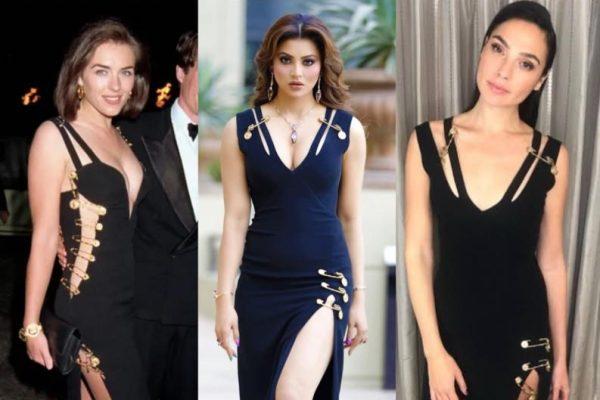 Urvashi Rautela's iconic 'Versace' dress more than Elizabeth Hurley and Gal Gadot