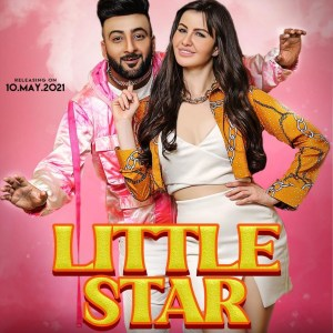 "Giorgia Andriani & Shehbaz Badesha revealed the poster of their upcoming song ""Little Star"""