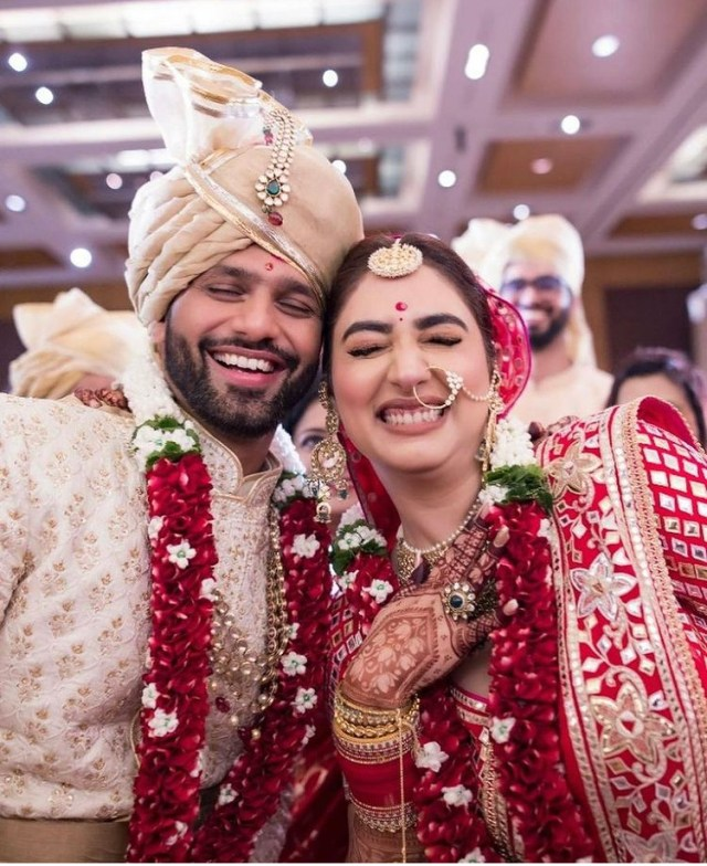 In Pics: Rahul Vaidya and Disha Parmar Wedding!