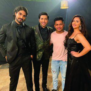 Akshay Kharodia and Sanaya Pithawalla team up for Ville Media Production's upcoming song 'Ek Mohabbat' sung by Ankit Tiwari