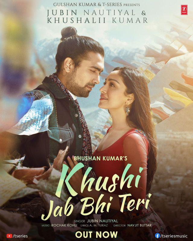 Jubin Nautiyal & Khushali Kumar's love song 'Khushi Jab Bhi Teri' out now