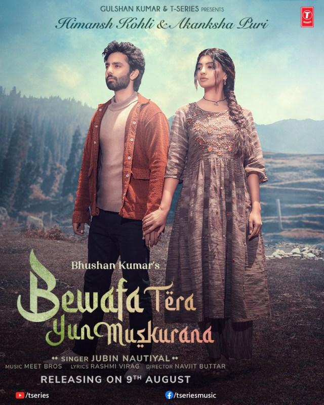 Jubin Nautiyal & Himansh Kohli back with 'Bewafa Tera Yuh Muskurana