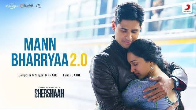 'Mann Bharryaa 2.0' from Sidharth Malhotra, Kiara Advani's 'Shershaah' out now