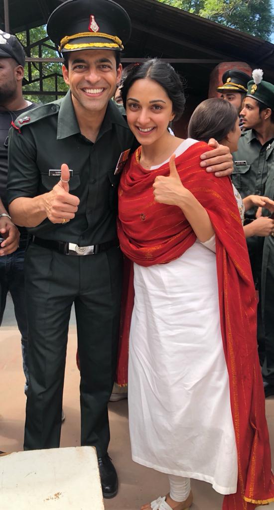 Himanshu Malhotra and Kiarra Advani