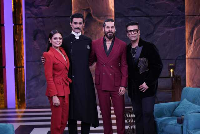 Karan Johar is back with your favourite show - Filled with secrets, fun banter, and more with the cast of The Empire!
