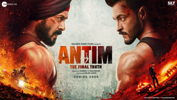 Salman Khan and Aayush Sharma lock horns in first poster of Antim: The Final Truth
