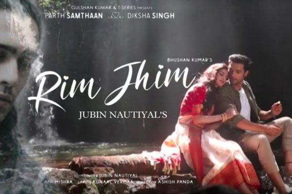 Parth Samthaan and Diksha Singh in Jubin Nautiyal's 'Rim Jhim'