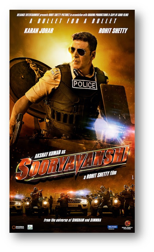 Akshay Kumar starrer 'Sooryavanshi' to release on Diwali 2021