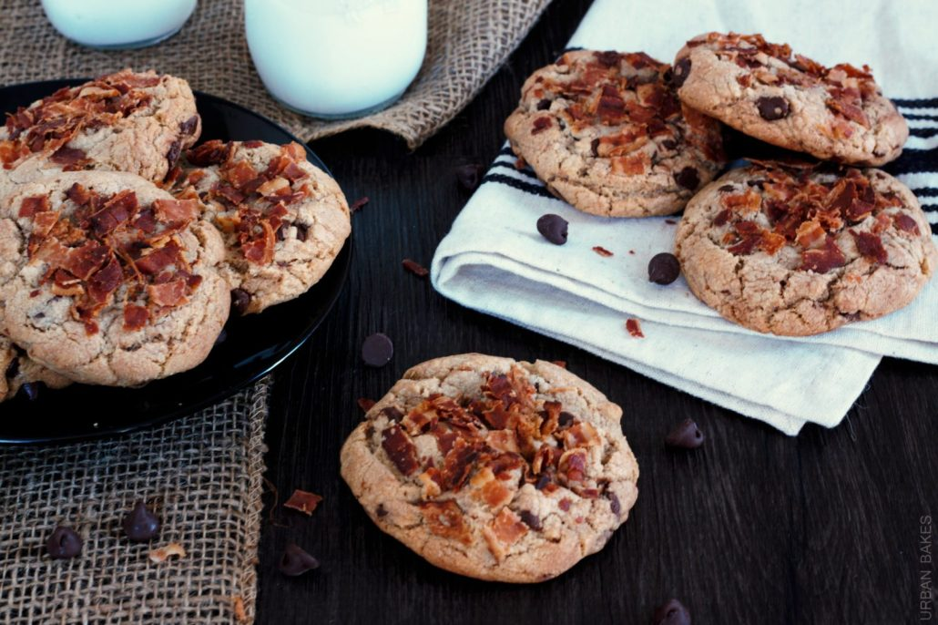 Browned Butter Bacon – Chocolate Chip Cookies