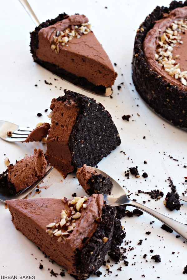 URBAN BAKES - Hazelnut Chocolate Cheesecake - URBAN BAKES
