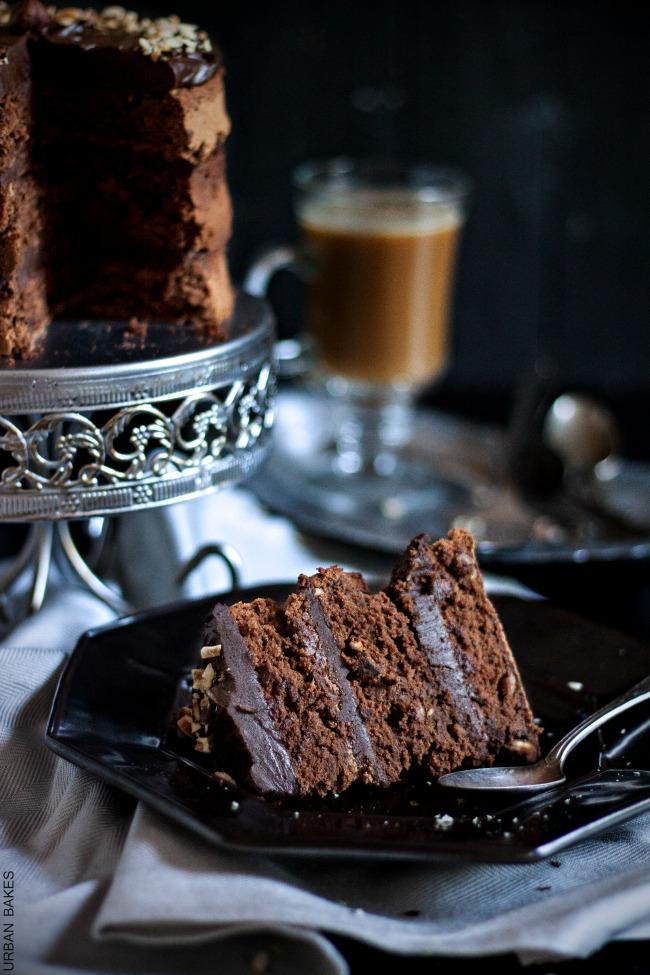 Hazelnut Chocolate Truffle Torte | URBAN BAKES