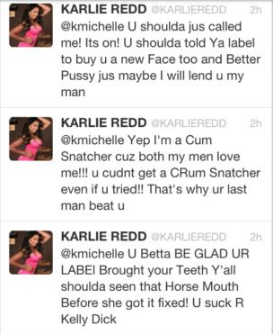 K Michelle And Memphitz Twitter Beef K. Michelle Shades Ex ...