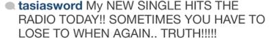 fantasia instagram misspelling caption
