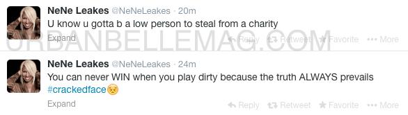 nene leakes charity tweet