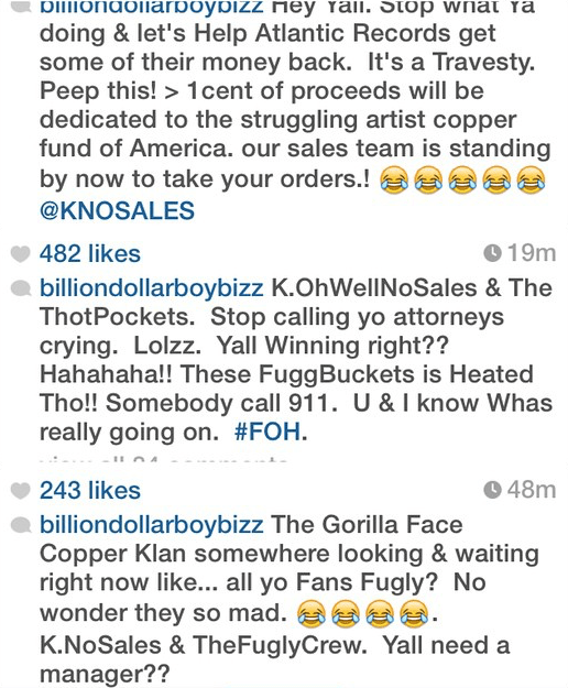 memphitz goes in on k michelle fans