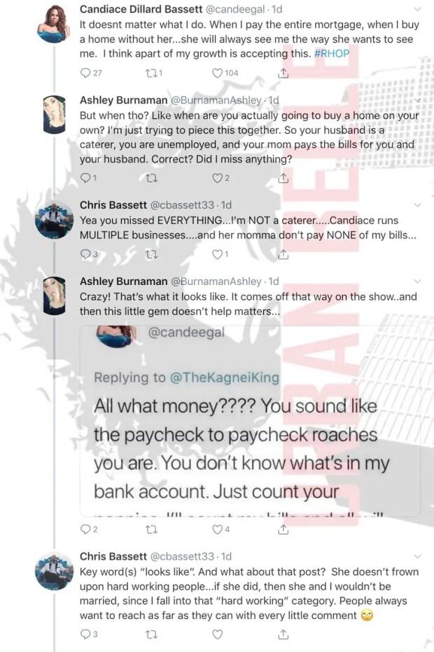 Candiace Dillard Twitter: RHOP Fans Slam Her for Clap Back