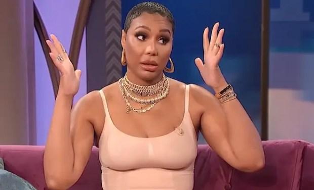 Tamar Braxton and Loni Love