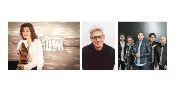 Left to Right: Amy Grant, Matt Maher, Sanctus Real