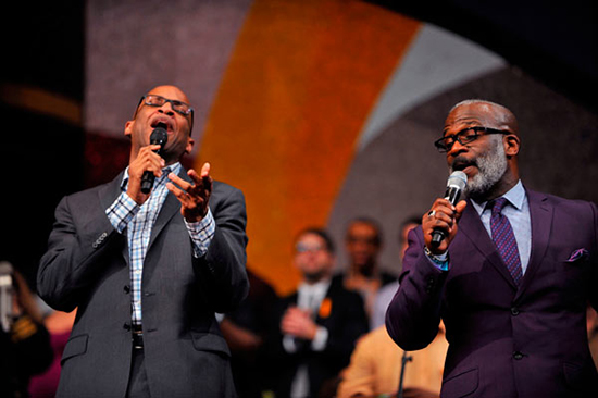 Donnie McClurkin and Bebe Winans