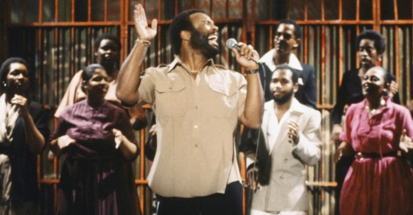 Andrae Crouch performs on Saturday Night Live in 1980 (Alan Singer/NBC/NBCU Photo Bank via Getty Images)