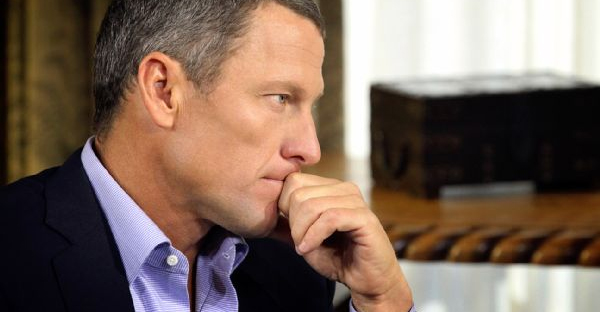 Lance Armstrong maintains professional cycling was riddled with PED usage from 1990 to 2005 and that he'd likely do the same thing if he was able to go back and was faced with the same circumstances. (AP Images/Harpo Studios)