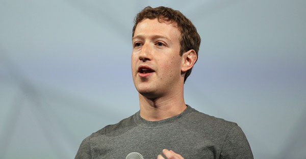 Facebook CEO Mark Zuckerberg delivers the opening kenote at the Facebook f8 conference on April 30, 2014 in San Francisco, California. (Justin Sullivan/Getty Images North America)