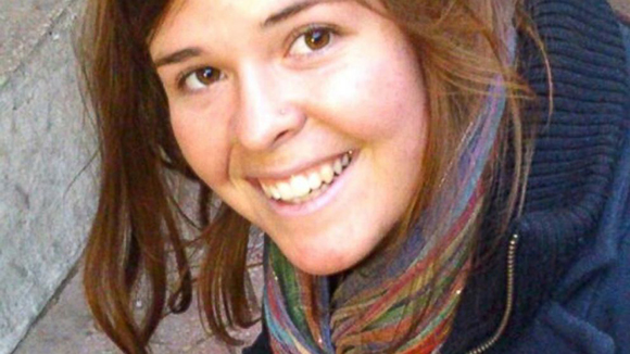 Kayla Mueller is seen in this undated handout photo. Mueller was kidnapped in Syria in August 2013.