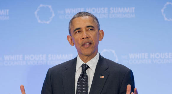 President Obama speaks at the Summit on Countering Violent Extremism on Thursday at the State Department in Washington, D.C.